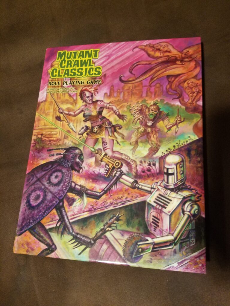 Mutan Crawl Classics rule book