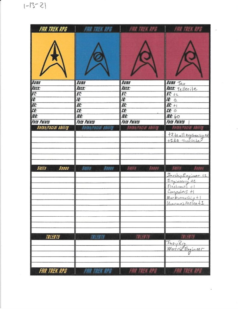 Tav character sheet