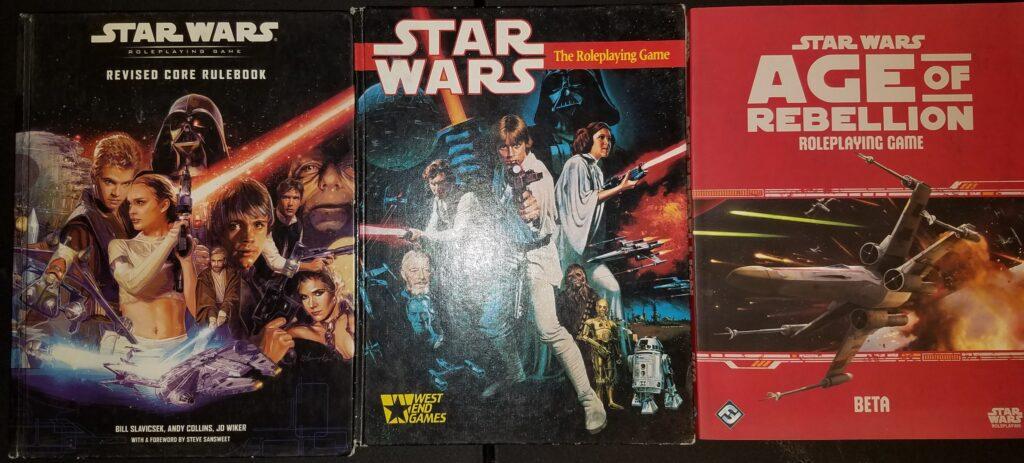 Star Wars RPG books