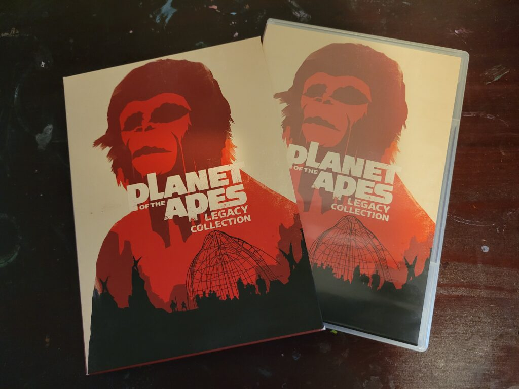 Planet of the Apes DVDs