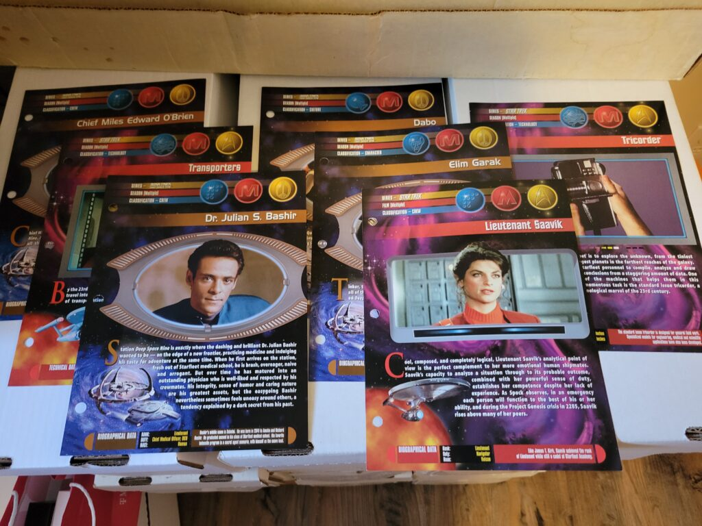 Star Trek Universe Cards