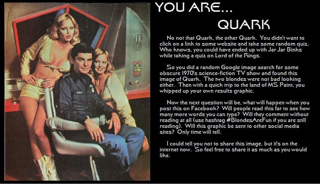 You Are Quark