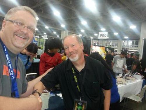 Kevin J Anderson Salt Lake Comic Con 2013