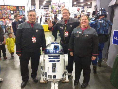 R2D2 at FanX 2016