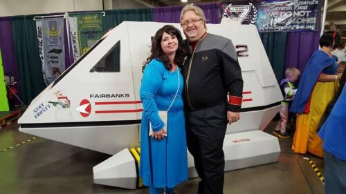 Shuttle Fairbanks at SLCC 2015