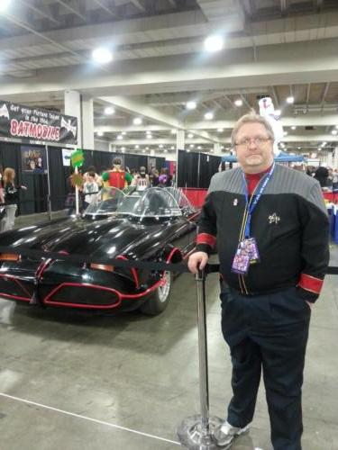 Salt Lake Comic Con 2014 Batmobile