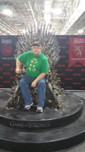 Salt Lake Comic Con 2015 Iron Throne