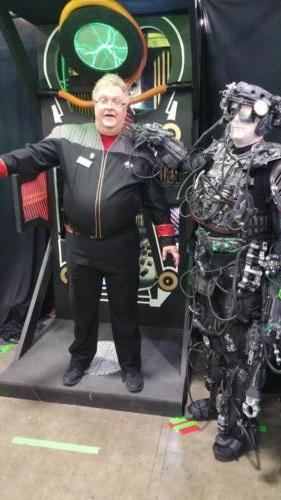 Salt Lake Comic Con 2016 Borg Alcove