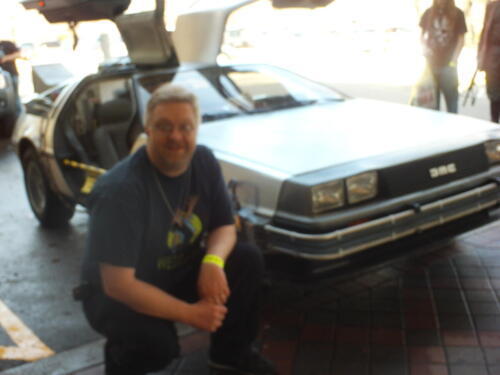 Starfest Back to the Future Delorean