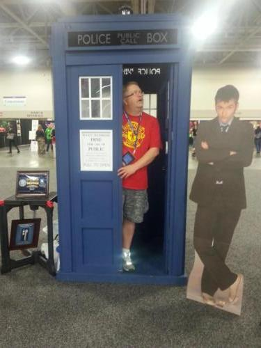Salt Lake Comic Con 2013 TARDIS