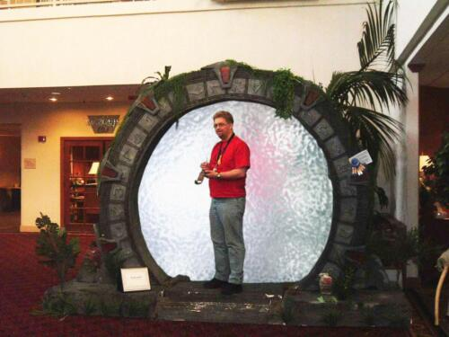 Starfest Stargate display