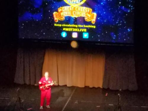 Mystery Science Theater 3000 Cheesy Movie Circus Tour