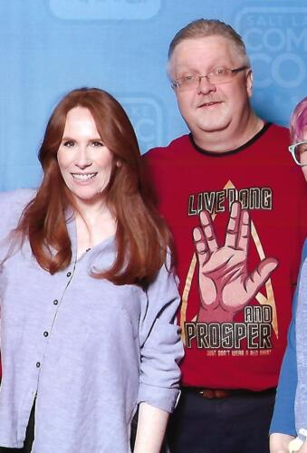 Catherine Tate of Doctor Who